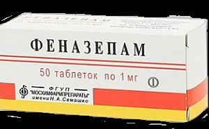 Phenazepamum-1mg-n50
